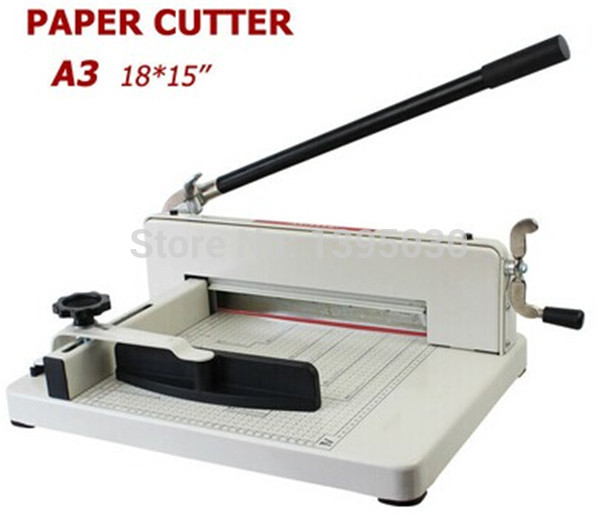 1pc Desktop Stack Paper Cutter Guillotine A3 size Cutting Machine 40mm Free shipping by DHL<br><br>Aliexpress
