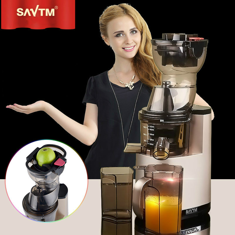 Aliexpress.com : Buy SAvTM Home/Commercial Fruit Electric Whole Slow Juicer Machine with Germany ...