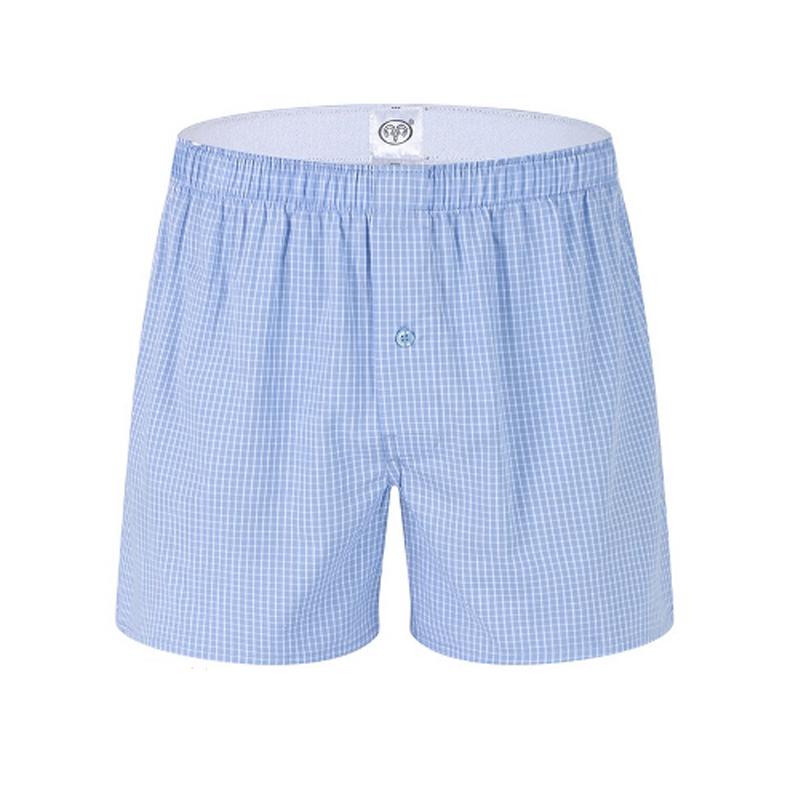 Cheap Hot Sale Cotton Spandex Men Underwear Sexy Boxers Mens Brand Classic Boxer Shorts Fashion Design Male Men's Boxer