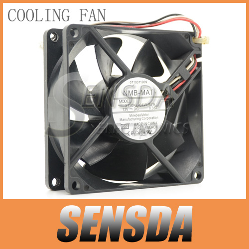 New Original NMB 8025 8cm 80mm 3110KL-04W-B79 for cisco 2851 2821 switch DC 12V 0.38A server inverter cooling fan(China (Mainland))