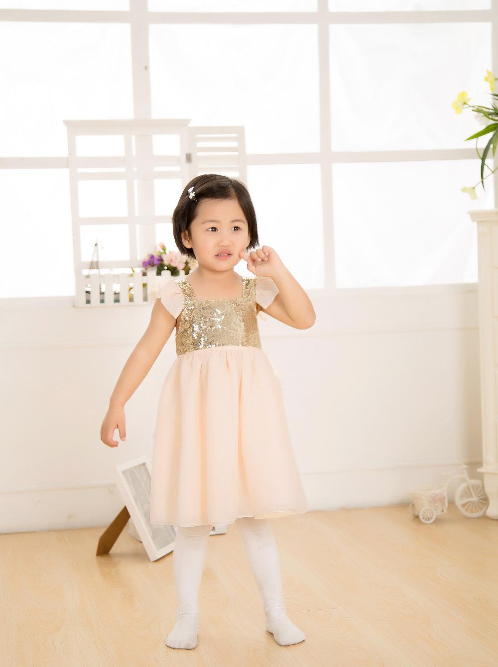 2015 new feshion cotton baby girls dress sparkle princess dresses tutu dress party cloth dress kp-spds08-13<br><br>Aliexpress