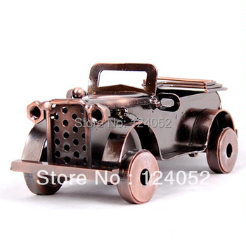 Vintage Bronze Statue Hot Metal Cars Auto Sedan Home Crafts Collection Model XZY0034 Free shipping & Drop shipping