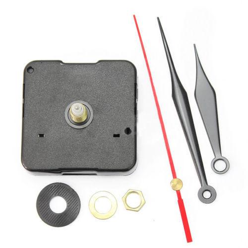 New Black Stitch Movement Quartz Clock Movement Mechanism Repair DIY Tool Kit L0192579(China (Mainland))