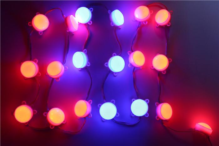 LED WS2811 Module DC12V WS2811 pixel module, with 6pcs SMD5050 RGB SMD LED,45mm diameter,20pcs / lot<br><br>Aliexpress