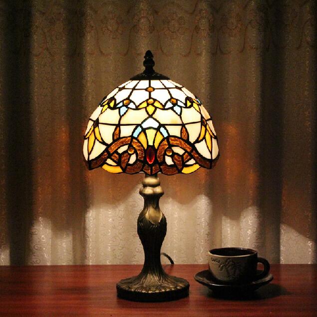 Aliexpresscom buy tiffany table lamp classic 20cm for Table lamp 27 cm