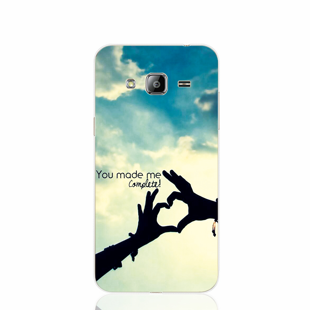 18997 You Make Me Complete cell phone case cover for Samsung Galaxy J1 MINI J2 J3 J7 ON5 ON7 J120F 2016 2015(China (Mainland))