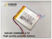 Buy best battery brand Size 606168 3.7V 3500mah Lithium polymer Battery Protection Board PDA Tablet PCs Digital Products Fr for $5.75 in AliExpress store
