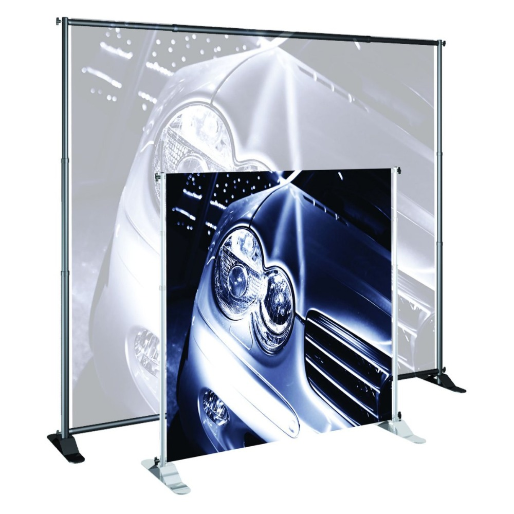 Free Shipping!Telescopic Pop Up Banner Stand Jumbo Telescopic Cross Bar Dye Sublimation Fabric Background Support(China (Mainland))