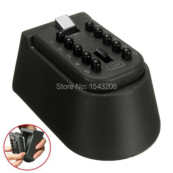 Outdoor Combination Key Safe Box Storage Wall Mounted Weather Resistant Security(China (Mainland))