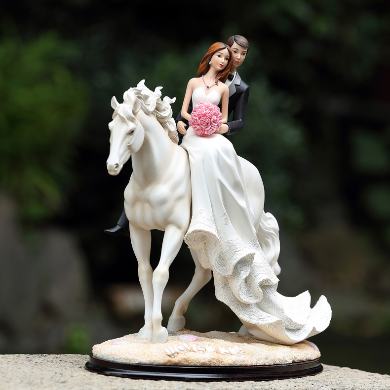 Picture about Romantic Love 1314 Wedding Cake Topper Bride And Groom ...