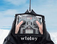 Windproof warm gloves Radio remote control transmitter shield DIY FPV drones winter necessary accs