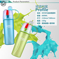 600ml Spray Water Bottles Scrub Professional Sports Direct Drinking Water Bottle Frosted Portable Climb Bike With