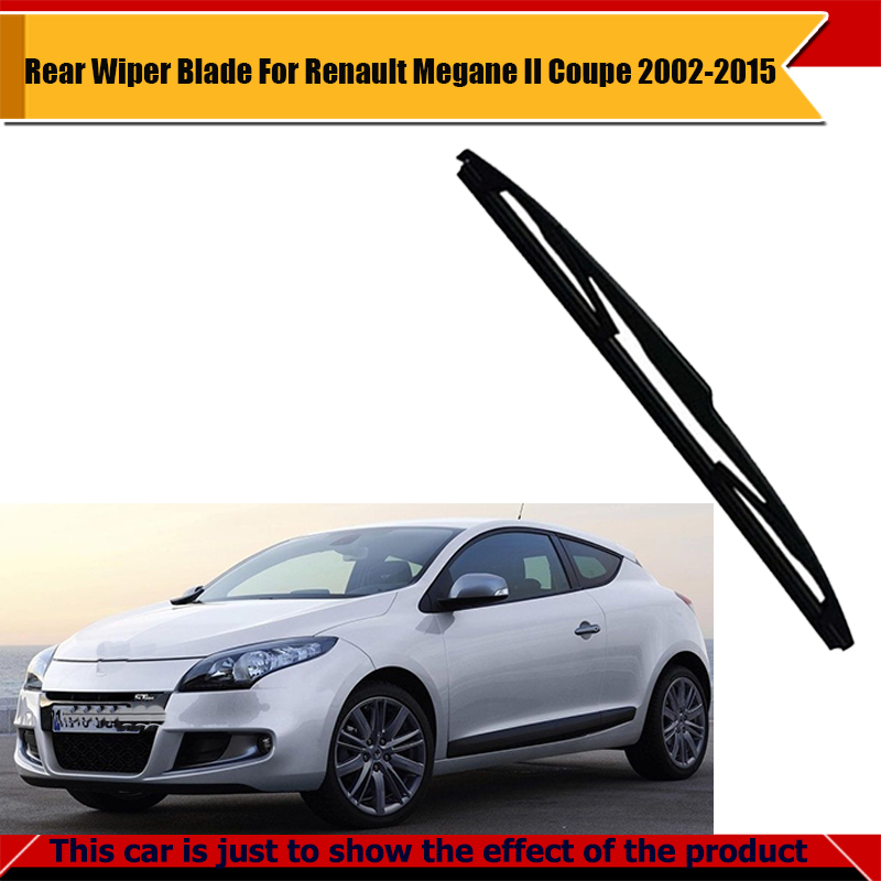 Vehicle Rear Window Wiper Blade Car Soft Rubber Windshield For Megane II Coupe 2002-2015(China (Mainland))