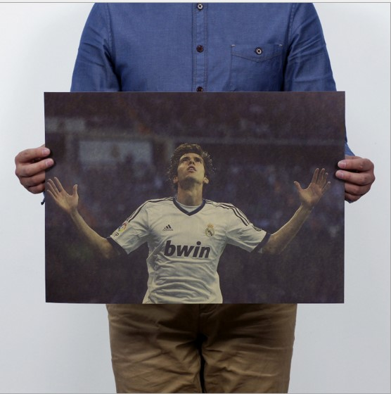 51*35.5cm Brazil football star Kaka Poster sport Advertising Poster Kraft Paper for Decoration and collection wall sticker(China (Mainland))