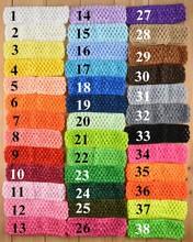 Buy 50pcs/lot 38 Color U Pick 1.5 Inch Elastic Crochet Headbands Girls Waffle Headwear DIY Hair Accessories D02 for $10.00 in AliExpress store