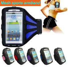 Mesh Breathing Sports Running Armband Case for iPhone 6s Cover Universal Running Mobile Phone Bags for iPhone 6 plus 5.5″ Case