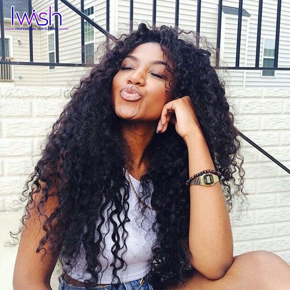 6A Brazilian Water Wave 4pcs Lot Brazilian Curly Virgin Hair Wet and Wavy Virgin Brazilian Hair Weave Bundles 100% Human Hair