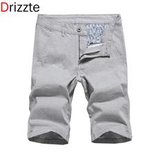 Drizzte Men Jean Summer shorts Jeans Mens Linen Cotton Denim Jean Shorts Designer Short For Men Plus Size 28- 40 42 44 46 48(China (Mainland))