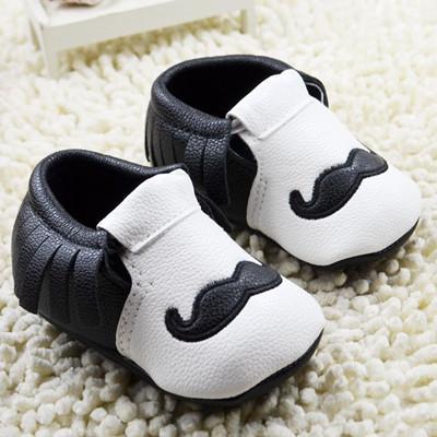 Новорожденный обувь мальчик и девочка малыша обувь осенью кожаные ботинки удобные ...