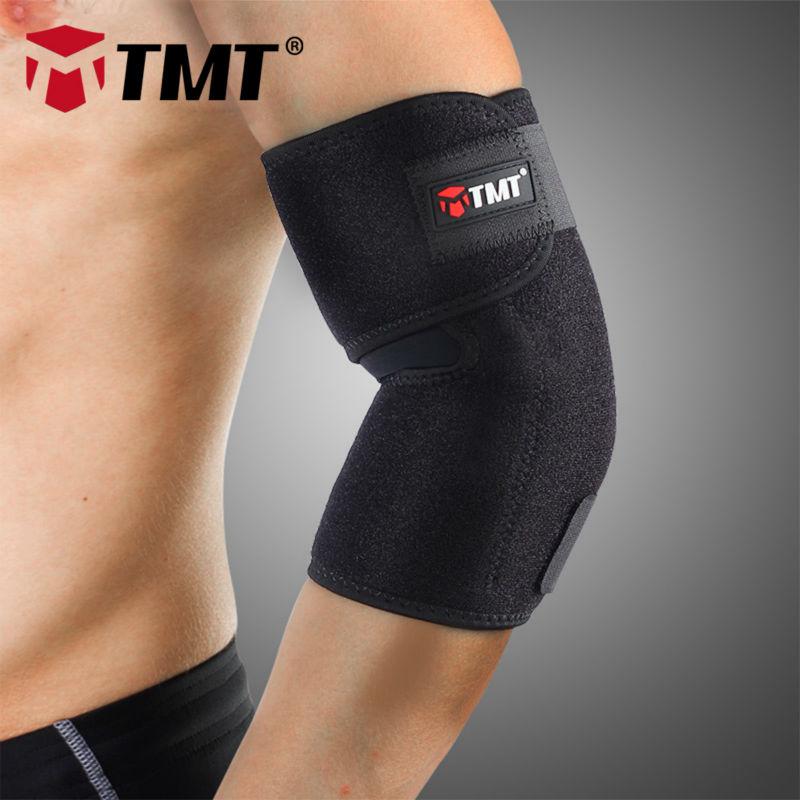 TMT Medium cotton&Lycra&OK cloth Absorb Sweat Elastic Elbow brace Sleeve support protector elbow pain Sports Tennis basketball(China (Mainland))
