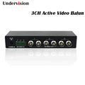 3 channel HD active Receiver 9 40V DC input dual output AHD CVI TVI video balun