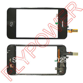 For iPhone 3GS Touch Screen digitizer with Middle Frame Assembly by free DHL, UPS or EMS ; 50pcs/lot(China (Mainland))