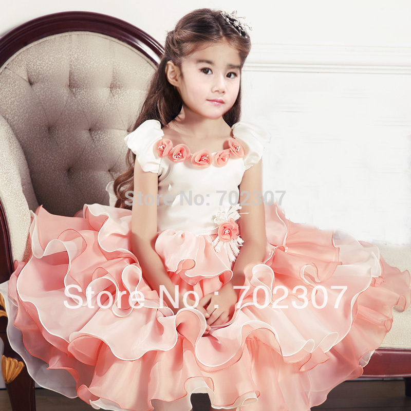 wholesale high-grade girl party dress,girl princess clothing dress 5pcs/lot 9797<br><br>Aliexpress