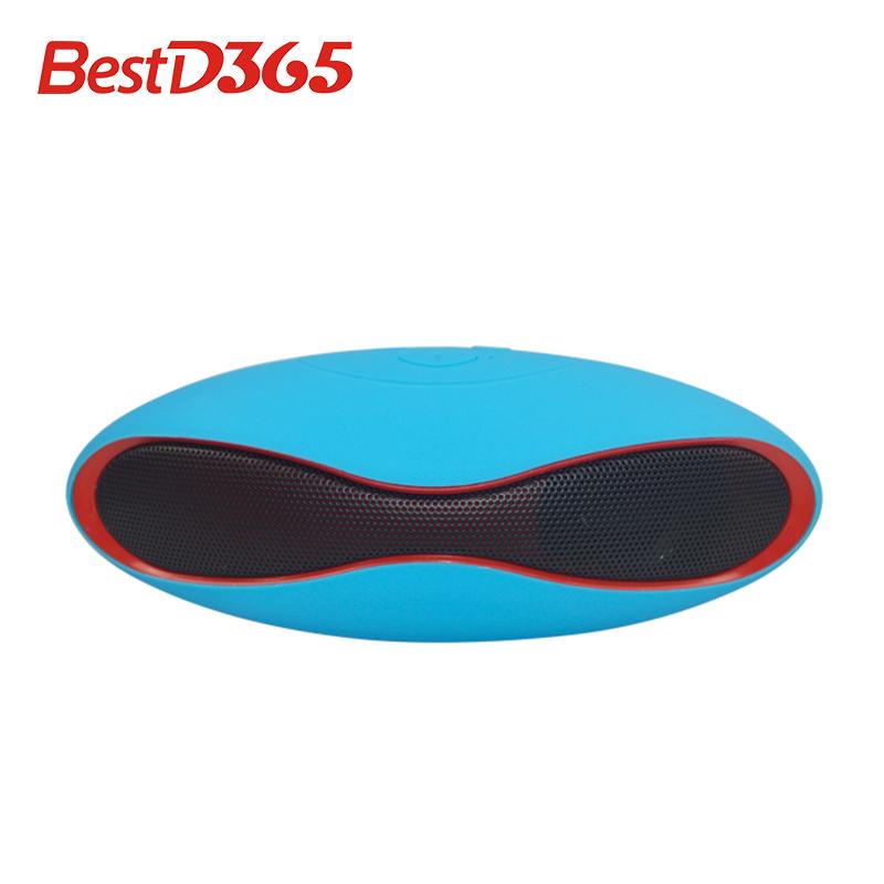 Купить Бытовая электроника  High Quality New Mult-function Mini Football Portable Wireless Stereo Bluetooth Speaker Mic Super Bass FM 5656 None