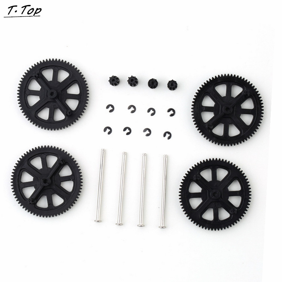 New Upgraded Motor Pinion Gear Gears Shaft Replacement Accessory for Helicopter Parrot AR Drone 1 2(China (Mainland))