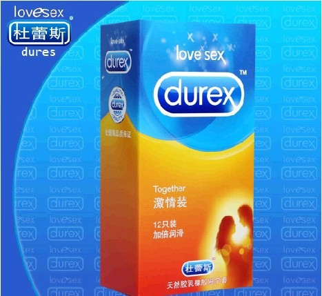 12 Pieces Durex Condoms, Style Together Regular Size Men's Condoms Offers Safe And Best Sex Products Fast Delivery(China (Mainland))