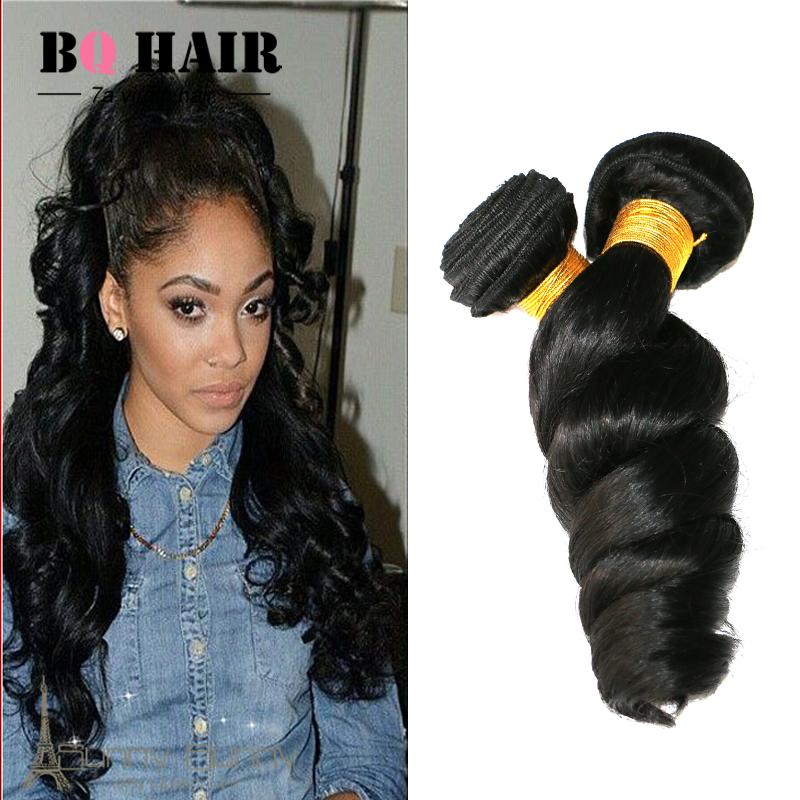 peruvian loose wave 3pcs lot 7A Unprocessed BQ Virgin Hair Loose Curly Top Quality Weave Bundles Aliexpress Uk beauty Sexy Woman<br><br>Aliexpress