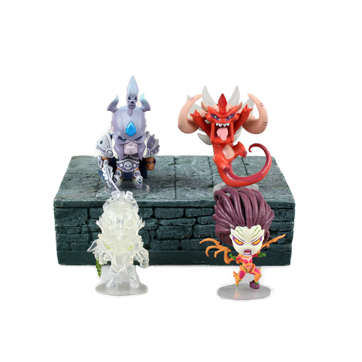 4PCS/SET WOW World of WAR 3 Movie TWO WORLD ONE HOME Game Alliance&Horde My name is MT PVC Action Figures Toys(China (Mainland))