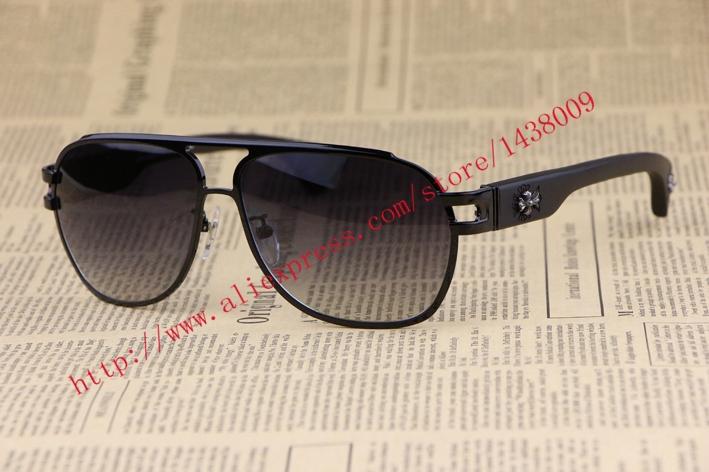 Фотография Metal frame Wood Leg  Men Sunglasses THE BRIWN  Square Frame  fashion personality Retro style Gradient Lens