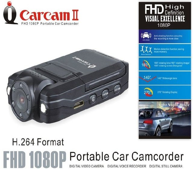HOT SALE !K3000 HD1280*720P Car DVR camera with 2.7'' TFT Rotation screenH.264 with super night vision