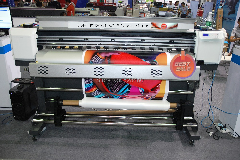Competitive 1440dpi High resolution wide format printer(1.8 meter 1 set DX5/DX7 print head)(China (Mainland))