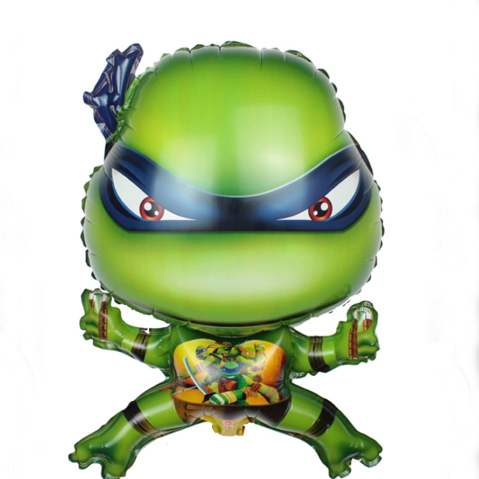 New Arrival 50pcs/lot Teenage Mutant Ninja Turtles Balloons Cartoon Globos TMNT Helium Balloon Party Decoration Kids Toys<br><br>Aliexpress