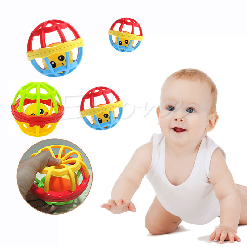 1Pc Infant Cute Handbell Musical Developmental Toy Bed Bell Kid Baby Toys Rattle(China (Mainland))