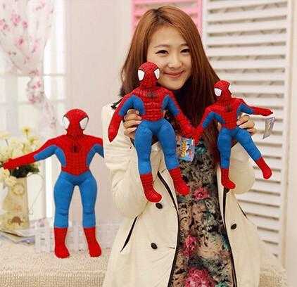 4-2-Styles-30cm-Spiderman-Plush-Toys-Action-Figure-Collectible-Model-Toys-Cartoon-Spider-man-Plush-Doll