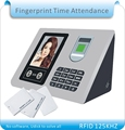 Free shipping More language RFID fingerprint face time clock office attendance recorder timing Udisk download 10