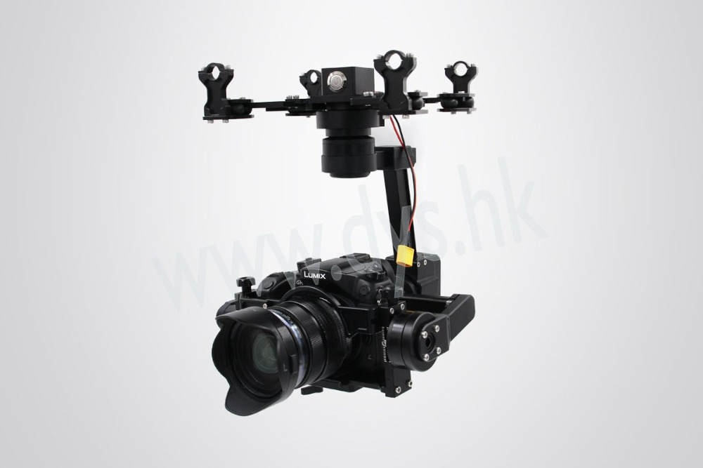 Newest DYS Aerial Gimbal Summer-Air 3 axis Brushless DSLR Handheld Stabilized Gimbal for Sony A7S &amp; Panasonic GH4<br>