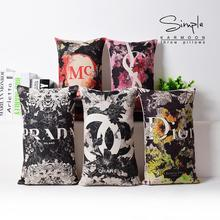 Nordic Fashion Linen pillow cushion,pillowcase