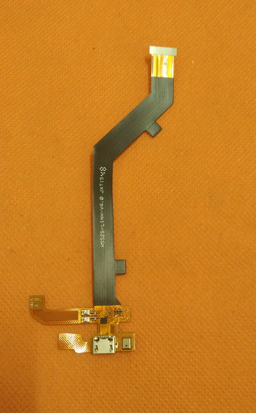 Original USB Plug Charge Board +Microphone Elephone Vowney MTK6795 Octa Core 5.5 inch Free