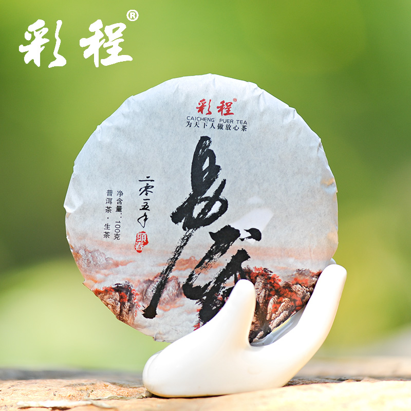 Hot Sale Black Tea Flavor Pu er Puerh Tea 100g Chinese Mini Yunnan Puer Tea Gift