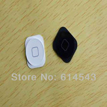 1 pcs/lot home button for iphone 5 5G function keys original new,Black/White,Free shipping,100% gurantee and best price(China (Mainland))
