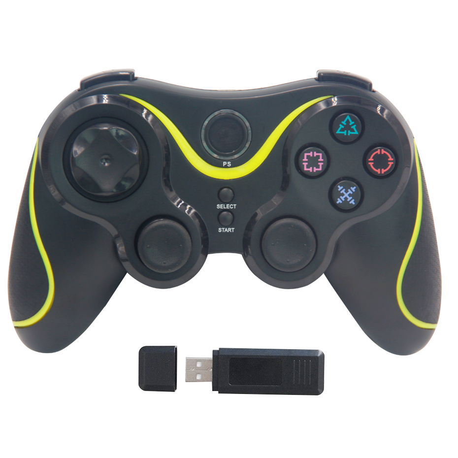 Wireless Controller Bluetooth Gamepad For PC Gamer PS 3 Controllers Gaming Joystick For Computer Video Game Playstation 3 Shock(China (Mainland))