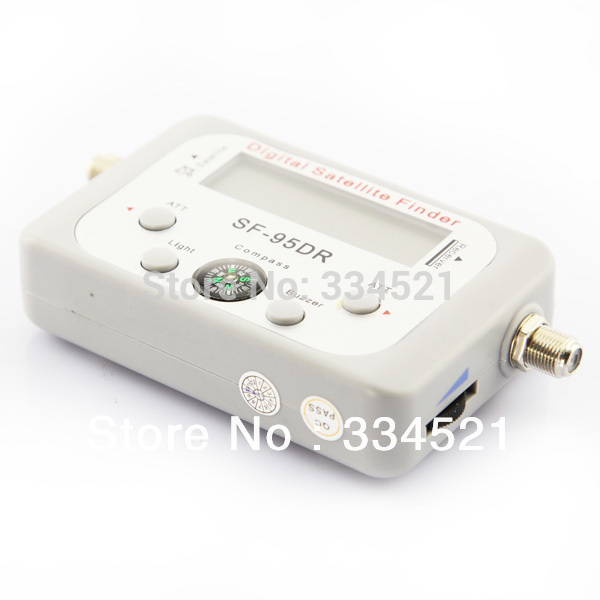 Фотография Digital Satellite Signal Finder Meter Compass DirecTV Dish FTA Satfinder Free Shipping Wholesale 2014 Hot Portable
