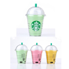 5200mAh Starbuck PowerBank Coffee Cup USB Mobile Charge Portable Starbuck Coffee Cup External Portable Backup Battery Charger