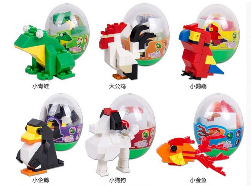 Animal Building Block Toy Children's Educational Toys(China (Mainland))
