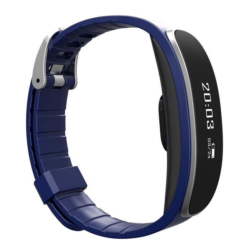 ถูก H29สร้อยข้อมือกันน้ำสมาร์ทวงนาฬิกายี่ห้อบลูทูธHeart Rate MonitorการออกกำลังกายการนอนหลับกีฬาติดตามPedometerสายรัดข้อมือ