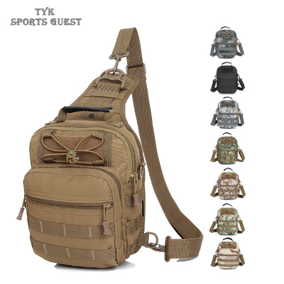 Men's Tactical Travel Messenger Bags Camping Equipment Outdoor Sport Nylon Wading Cross body casual Single Shoulder Chest Bag(China (Mainland))